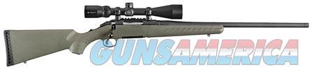 "Ruger 16953 American Predator 6.5 Creedmoor 22"" 4+1 Fixed Moss Green Stock Black w/ Vortex Scope  Guns > Rifles > R Misc Rifles"