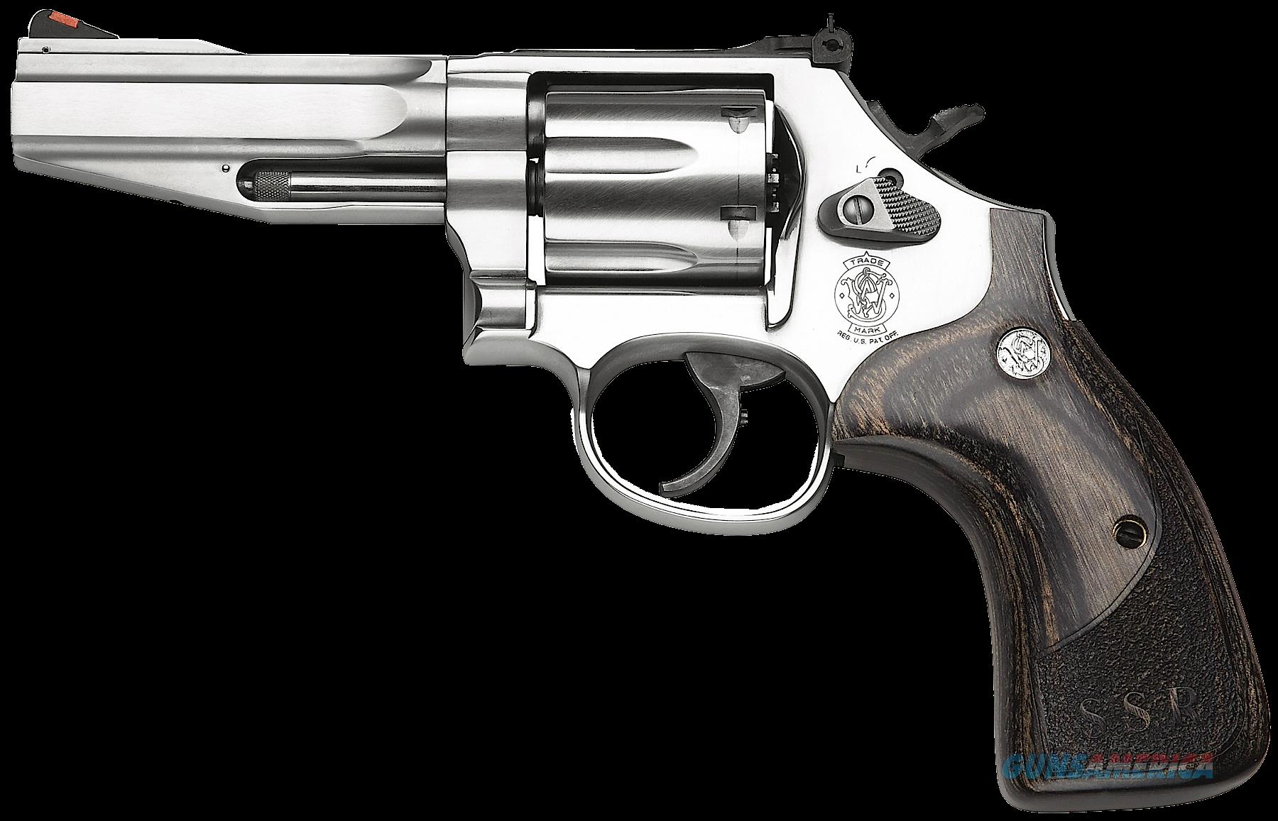 "Smith & Wesson 178012 686 Pro SSR Single/Double 357 Magnum 4"" 6 Wood Stainless  Guns > Pistols > S Misc Pistols"