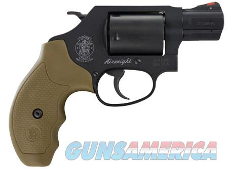 "Smith & Wesson 11749 360 Single/Double 357 Magnum 1.875"" 5 rd Flat Dark Earth Synthetic Grip Black  Guns > Pistols > S Misc Pistols"