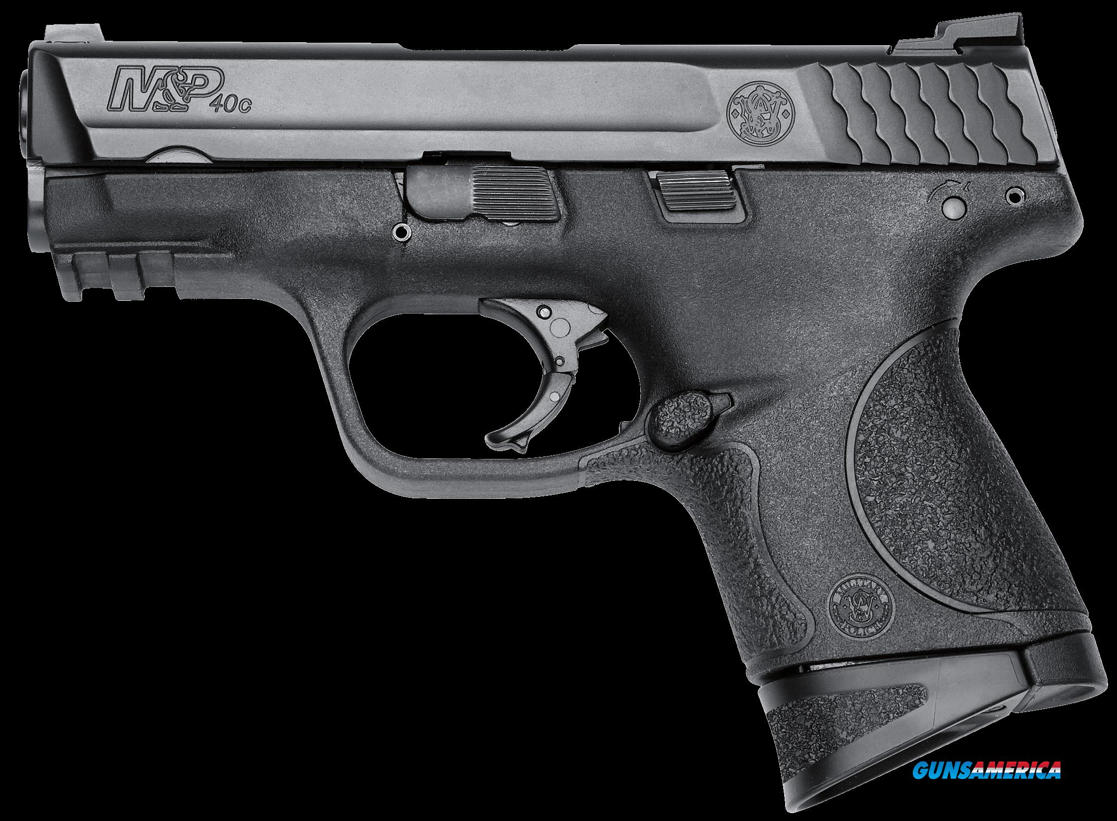 Smith & Wesson 10177 M&P 40 Compact with Crimson Trace Green Laserguard Double 40 Smith & Wesson  Guns > Pistols > S Misc Pistols