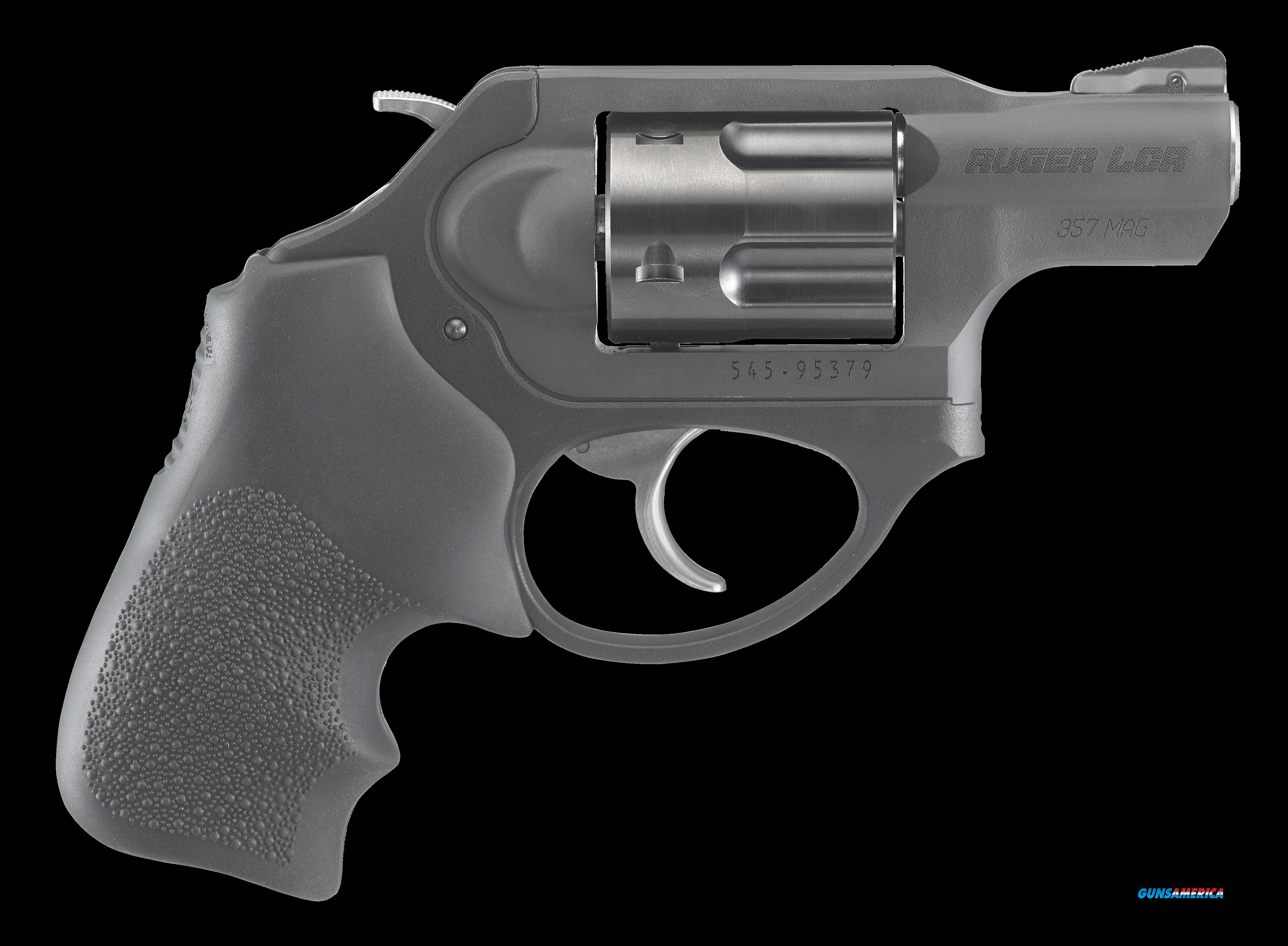 "Ruger 5460 LCR LCRx Single/Double 357 Magnum 1.875"" 5 rd Black Hogue Tamer Monogrip Grip Black  Guns > Pistols > R Misc Pistols"