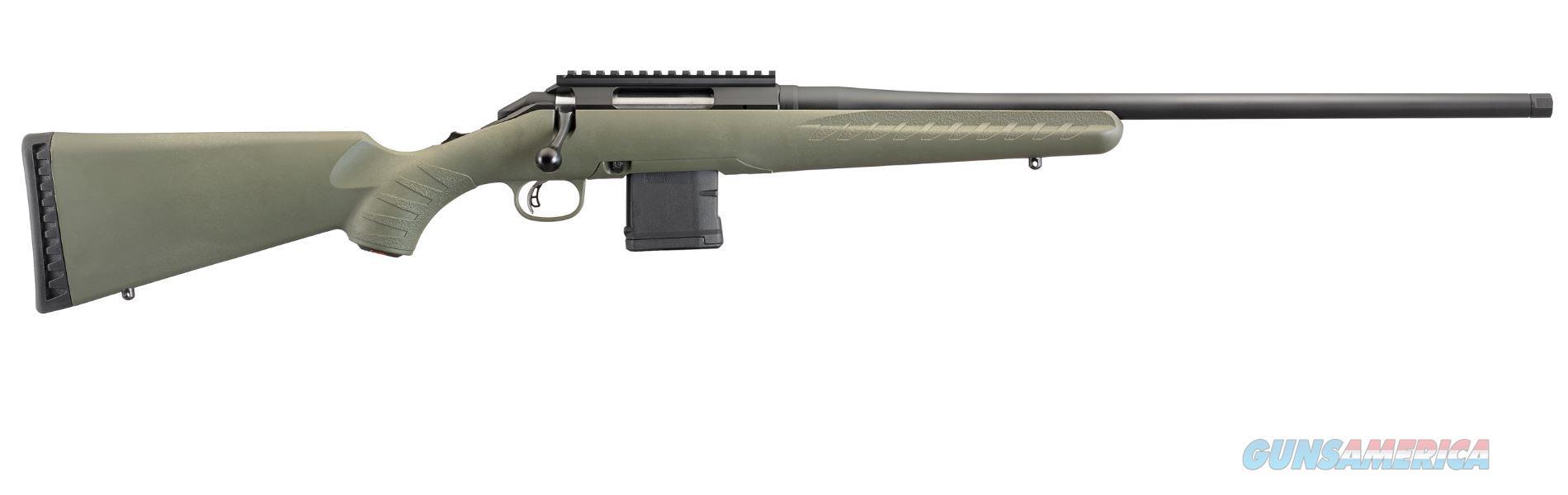 Ruger AMERICAN PRED 6.5GR ODG 10RD 26922 | 22 BBL | THREADED BBL  Guns > Rifles > R Misc Rifles