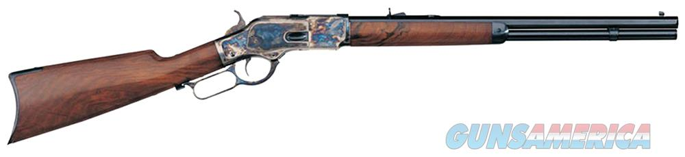 "Taylors and Company 200A 1873 Sporting Lever 45 Colt (LC) 24.3"" 13+1 Walnut Stk Blued Barrel/Case  Guns > Rifles > Taylors & Co. Rifles > Winchester Lever Type"
