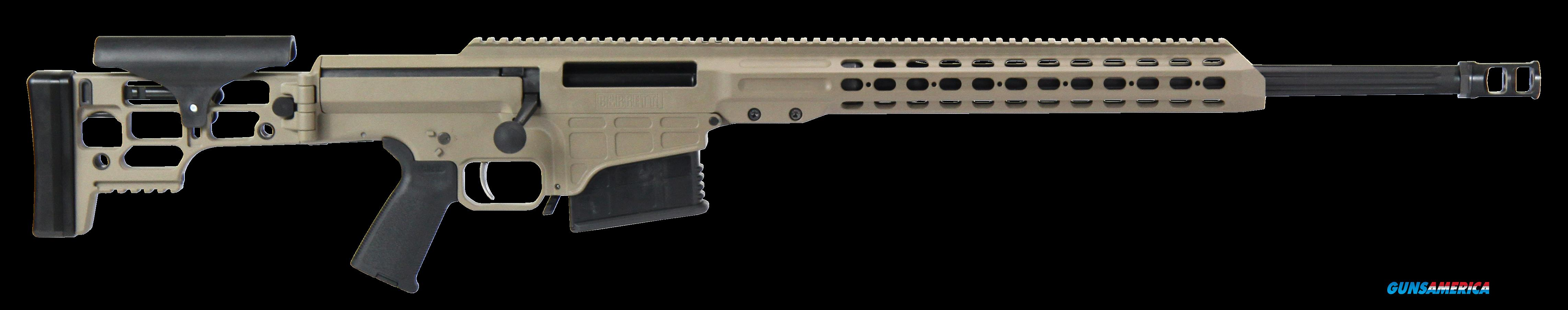 "Barrett 14374 MRAD Bolt 338 Lapua Magnum 24"" 10+1 Folding Flat Dark Earth Stk FDE/Blk  Guns > Rifles > Barrett Rifles"