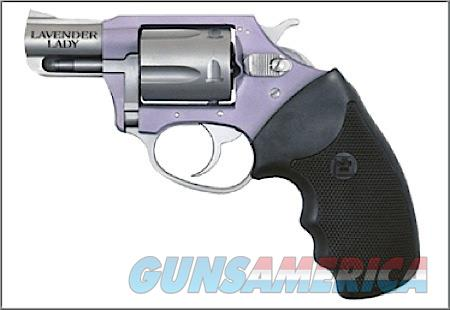"Charter Arms 53849 Undercover Lite Chic Lady  Revolver Single/Double 38 Special 2"" 5 Rd Black Rubber  Guns > Pistols > Charter Arms Revolvers"
