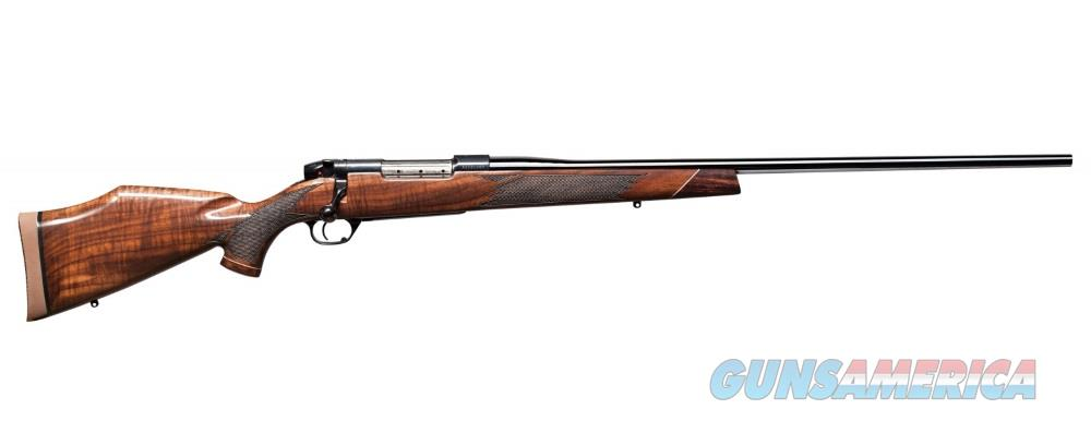 Weatherby MARK V DELUXE 257WBY BL/WD 26 AA GLOSS AMERICAN WALNUT  Guns > Rifles > W Misc Rifles