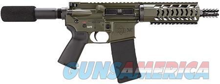 """Diamondback DB15PODG7 DB15 AR Pistol Semi-Automatic 223 Remington/5.56 NATO 7.5"""" 30+1  Olive Drab  Guns > Pistols > Diamondback Pistols"""