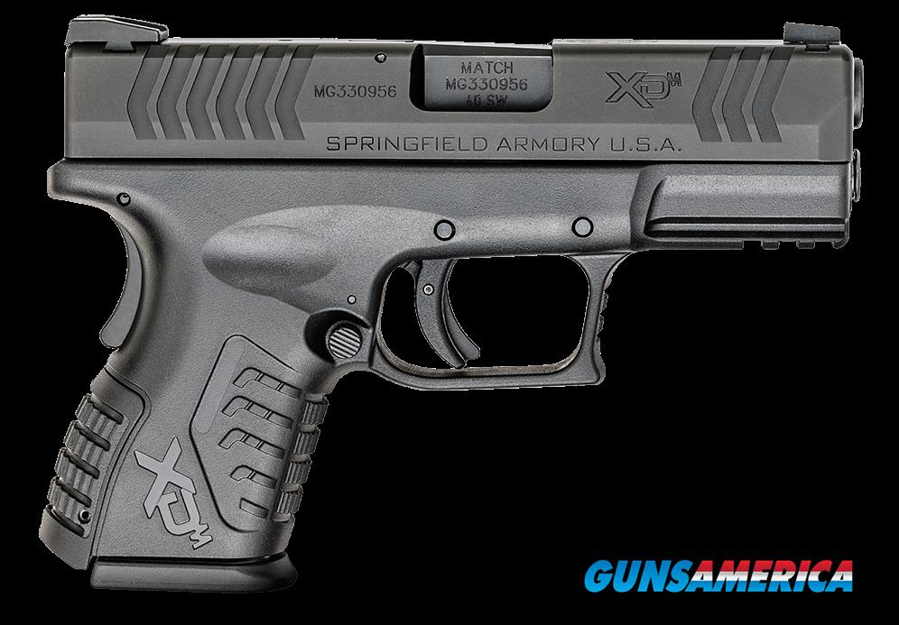 "Springfield Armory XDM9384CBHCE XD(M) Compact 40 S&W 3.8"" 11+1/16+1 FOF Black Interchangeable  Guns > Pistols > S Misc Pistols"
