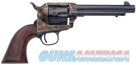 "Taylors and Company 4051 Cattleman New Model 22 LR 4.75"" 12 Walnut Grip Blued  Guns > Pistols > Taylors & Co. Pistols > Ctg."