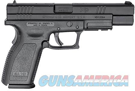 "Springfield Armory XD9401 XD Service *CA Compliant* Double 9mm Luger 5"" 10+1 Black Polymer  Guns > Pistols > Springfield Armory Pistols > XD (eXtreme Duty)"