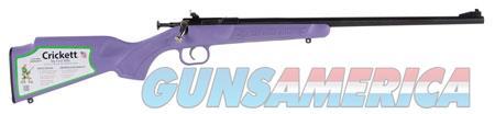 "Crickett KSA2308 Crickett  22 Mag 1 16.13"" Blued, Purple Fixed  Guns > Rifles > Crickett-Keystone Rifles"