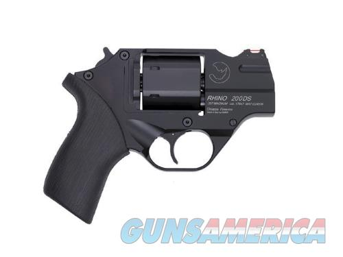 Chiappa Firearms RHINO 200DS 357MAG 2 BLK 6RD CF340.216 | W/LEATHER HOLSTER  Guns > Pistols > C Misc Pistols