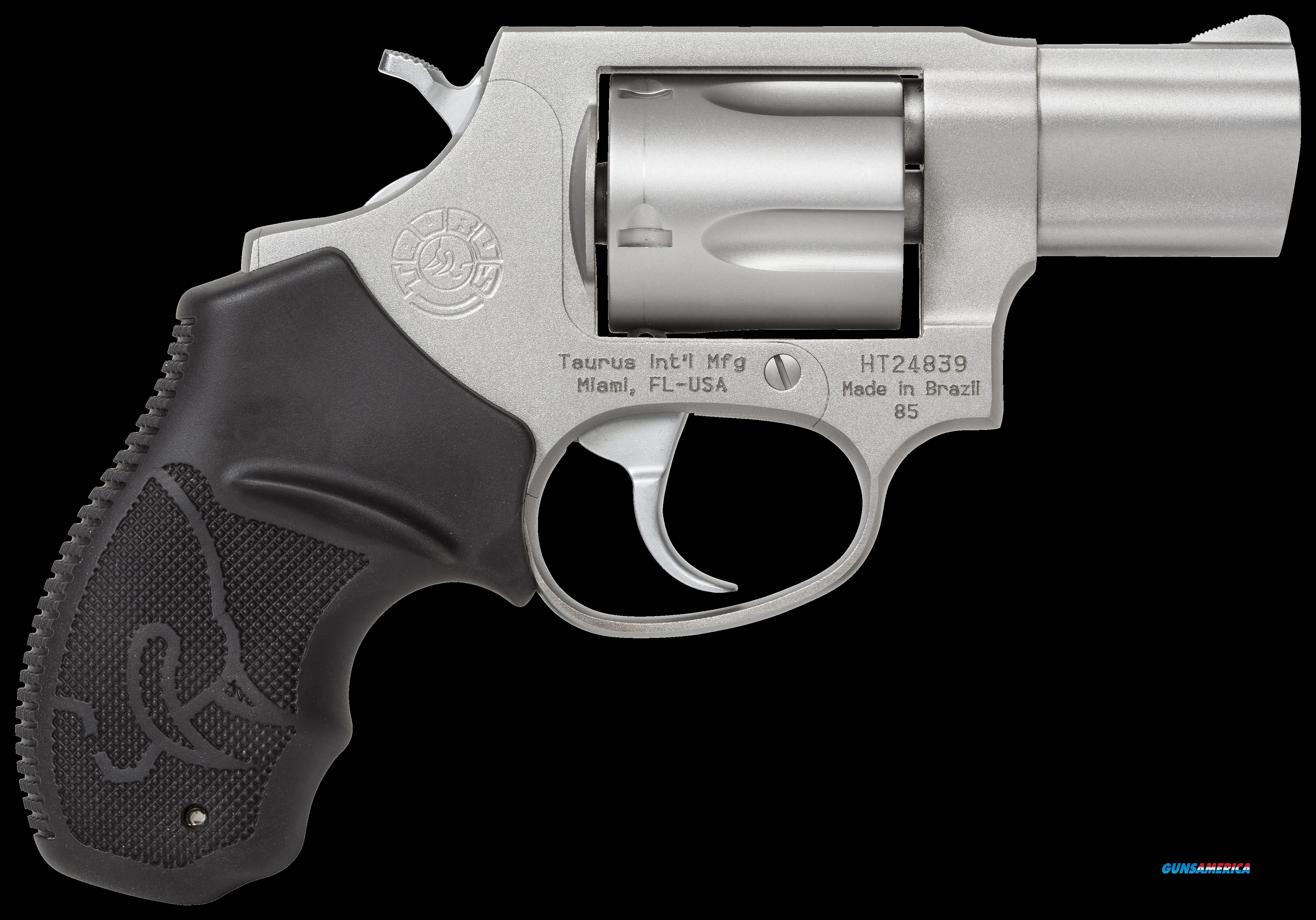 "Taurus 2850029FS 85 Standard Single/Double 38 Special 2"" 5 Black Rubber Stainless  Guns > Pistols > Taurus Pistols > Revolvers"