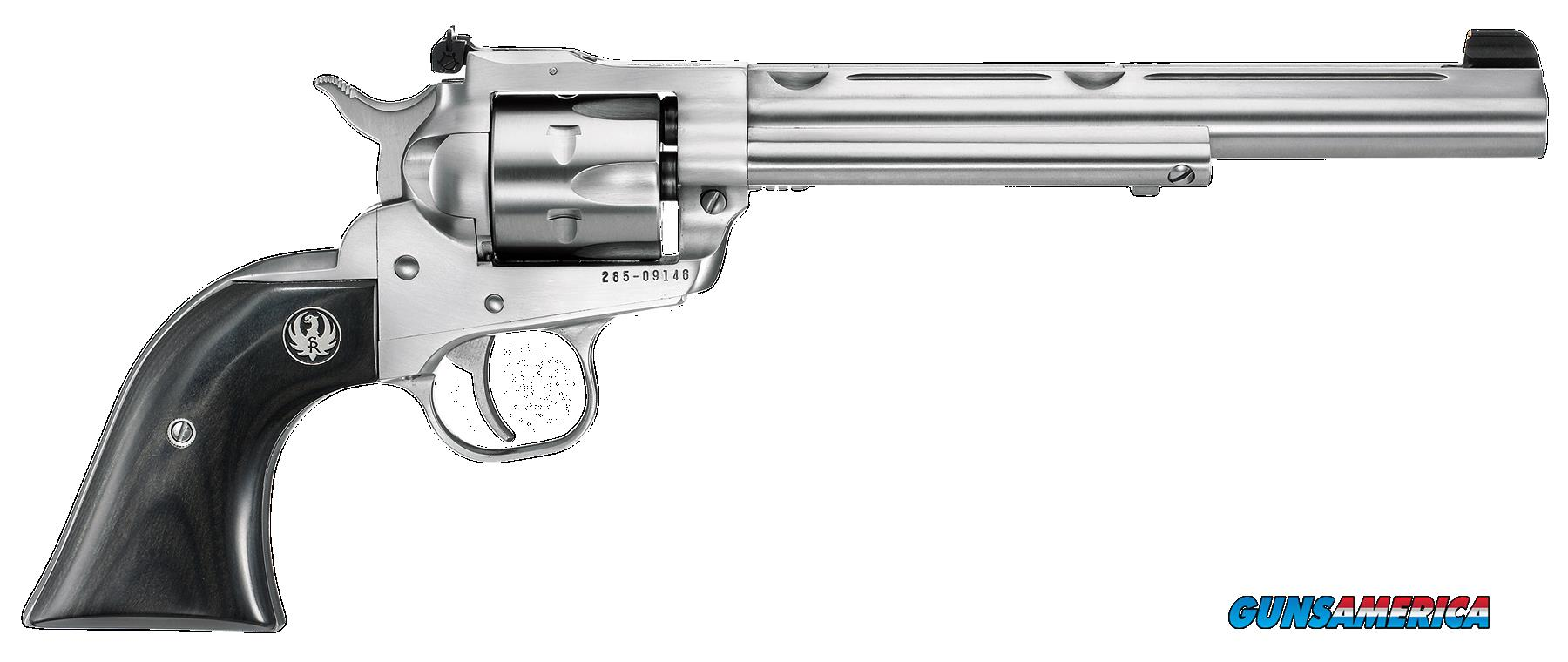 "Ruger 0662 Single-Six Hunter Single 22 Long Rifle 7.5"" 6 Black Laminated Wood Stainless  Guns > Pistols > Ruger Single Action Revolvers > Single Six Type"