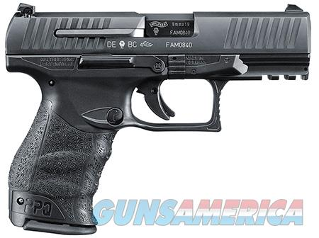 """Walther Arms 2796066 PPQ M2  9mm Luger Double 4"""" 15+1 Black Polymer Grip/Frame Grip Black Tenifer  Guns > Pistols > Walther Pistols > Post WWII > P99/PPQ"""