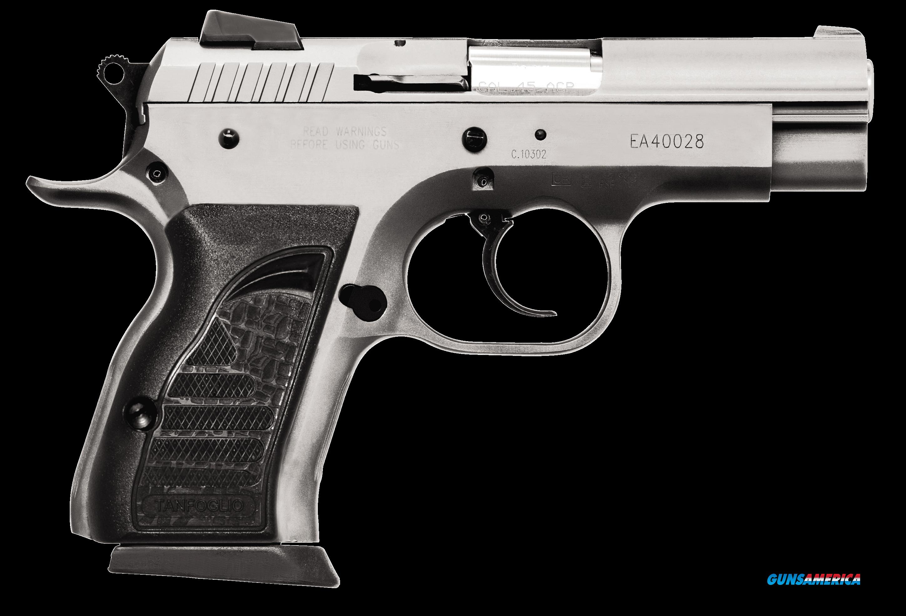 "EAA 999098 Witness Compact Steel 40 S&W 3.6"" 12+1 AS Black Synthetic Grip Wonder SS Finish  Guns > Pistols > EAA Pistols > Other"