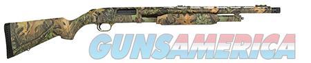 """Mossberg 52280 500  Pump 12 Gauge 20"""" 5+1 3"""" Fixed Stock Steel Receiver with overall Mossy Oak  Guns > Shotguns > Mossberg Shotguns > Pump > Sporting"""