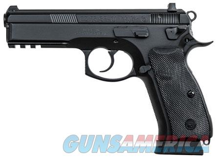 "CZ 91153 CZ 75 SP-01 Tactical 9mm Luger Single/Double 4.60"" 18+1 Black Rubber Grip Black Slide  Guns > Rifles > CZ Rifles"