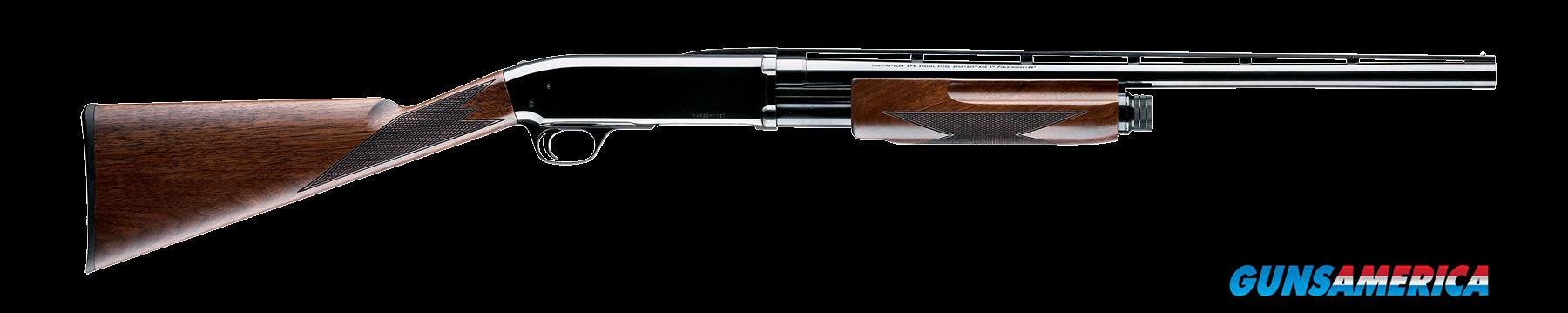 "Browning 012216515 BPS 16 Gauge 24"" 2.75"" Blk Walnut Stk Blued High Polish Rcvr  Guns > Shotguns > Browning Shotguns > Pump Action > Hunting"