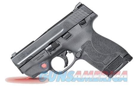 "Smith & Wesson 11672 M&P 40 Shield M2.0 Crimson Trace Laser 40 S&W Double 3.1"" 6+1/7+1 Black Polymer  Guns > Pistols > Smith & Wesson Pistols - Autos > Shield"
