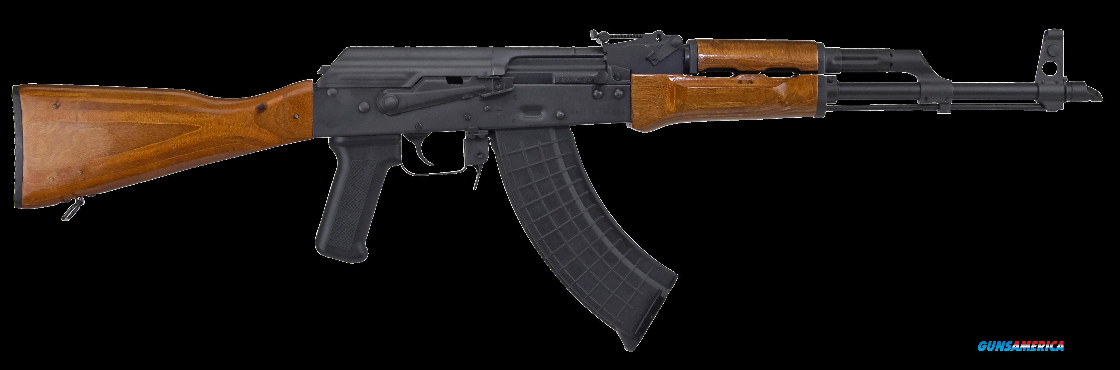 "I.O. IODM2009 AKM247 Classic Semi-Automatic 7.62x39mm 16.5"" 30+1 Underfold Laminate Wood Stk Black  Guns > Rifles > AK-47 Rifles (and copies) > Folding Stock"