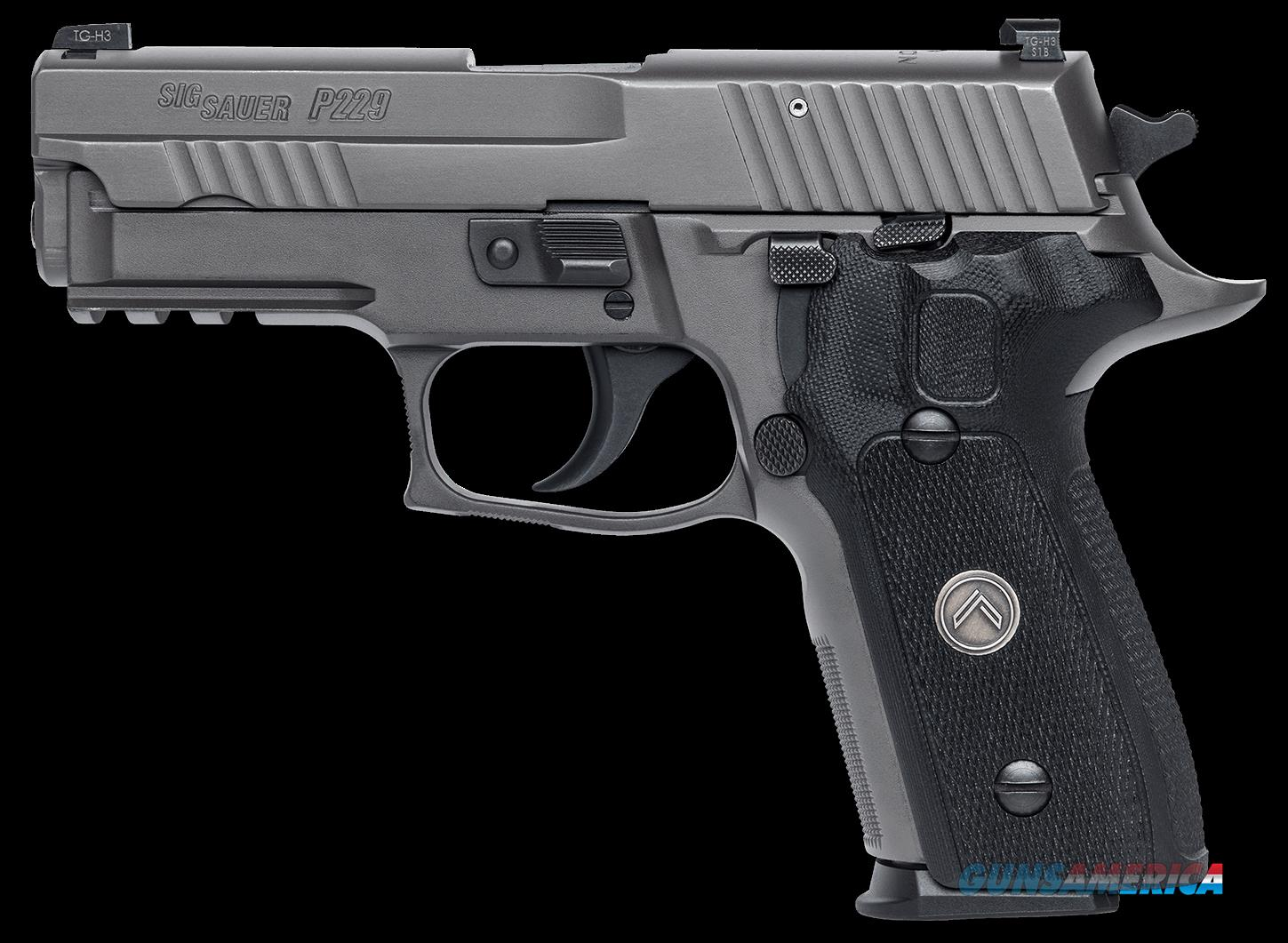 "Sig Sauer E29R9LEGION P229 Compact Legion Single/Double 9mm Luger 3.9"" 15+1 Black G10 Grip Gray PVD  Guns > Pistols > Sig - Sauer/Sigarms Pistols > P226"