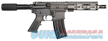 "I.O. IO9MM2022 M215 ML-7 9mm Luger 8.50"" 30+1 Black Hard Coat Anodized Black Polymer Grip Buffer  Guns"