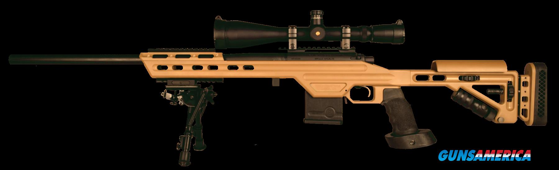 "MasterPiece Arms 308BATAN Bolt Action 308 Win/7.62 NATO 24"" 10+1 MPA Tactical Chassis Aluminum Tan  Guns > Rifles > MasterPiece Arms Rifles > Defender"