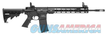 "Smith & Wesson 11600 M&P15 Tactical with M-Lok Semi-Automatic 223 Rem/5.56 NATO 16"" 30+1 Black  Guns > Rifles > S Misc Rifles"