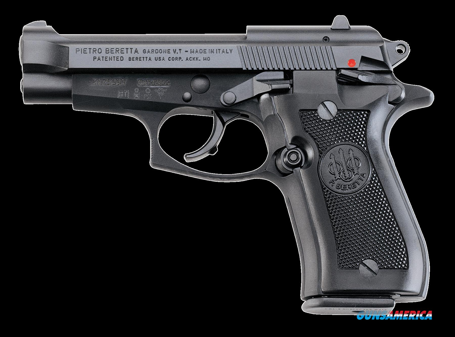 "Beretta J85F200 85 FS Cheetah SA/DA 380 ACP 3.8"" 8+1 Black Synthetic Grip Black  Guns > Pistols > B Misc Pistols"