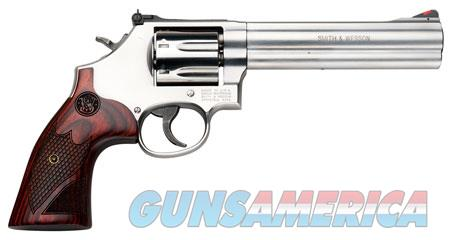 """Smith & Wesson 150712 686 Plus Deluxe Single/Double 357 Magnum 6"""" 7 rd Wood Grip Stainless Steel  Guns > Pistols > Smith & Wesson Revolvers > Full Frame Revolver"""