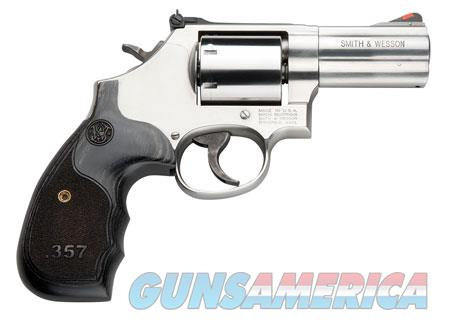 """Smith & Wesson 150853 686 Plus Single/Double 357 Magnum 3"""" 7 rd Wood Grip Stainless Steel  Guns > Pistols > Smith & Wesson Revolvers > Full Frame Revolver"""
