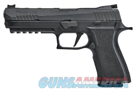 "Sig Sauer 320X59BAS10 P320 X-Series Double 9mm Luger 5"" 10+1 Black Polymer Grip Black Nitron  Guns > Pistols > Sig - Sauer/Sigarms Pistols > P239"