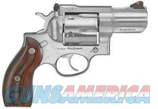 Ruger REDHAWK 44MAG DA 2.75 SS AS 5028|EJCTR SHRD|WD GRPS|CASE  Guns > Pistols > Ruger Double Action Revolver > Redhawk Type
