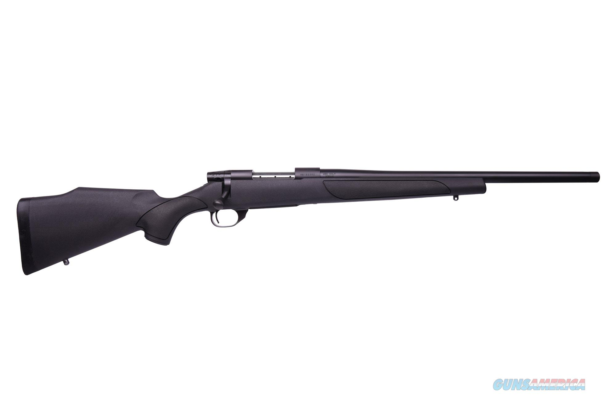Weatherby VANGUARD 223REM BL/SYN 20 TB HEAVY BARREL | THREADED  Guns > Rifles > W Misc Rifles