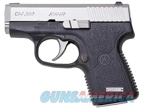 "Kahr Arms CW3833 CW380 380ACP 2.58"" 6+1 Black Polymer Grip Stainless  Guns > Pistols > Kahr Pistols"
