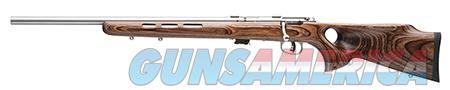 "Savage 25795 Mark II BTV LH Bolt 22 Long Rifle 21"" 5+1 Laminate Thumbhole Brown Stk Stainless Steel  Guns > Rifles > Savage Rifles > Accutrigger Models > Sporting"
