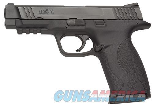"Smith & Wesson 109106 M&P 45 Double 45 Automatic Colt Pistol (ACP) 4.5"" 10+1 Black Polymer Grip  Guns > Pistols > Smith & Wesson Pistols - Autos > Polymer Frame"