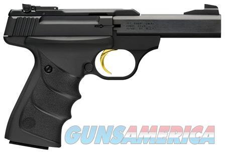 "Browning 051514490 Buck Mark Standard Micro 22 Long Rifle (LR) Single 4"" 10+1 Black Ultragrip RX  Guns > Rifles > Browning Rifles > Bolt Action > Hunting > Blue"