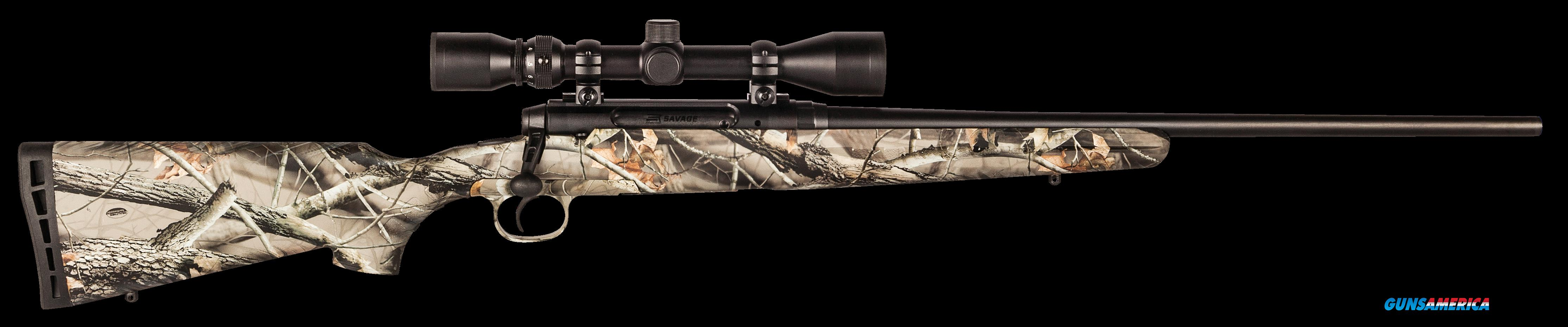 "Savage 19244 Axis XP Camo with Scope Bolt 22-250 Remington 22"" 4+1 Synthetic Realtree Hardwoods HD  Guns > Rifles > S Misc Rifles"