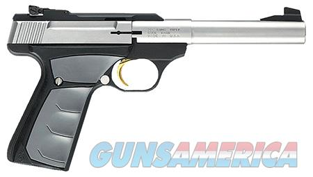 """Browning 051483490 Buck Mark Camper  22 LR 5.5"""" 10+1 Black Aluminum Alloy Gray Ultragrip FX  Guns > Pistols > Browning Pistols > Buckmark"""