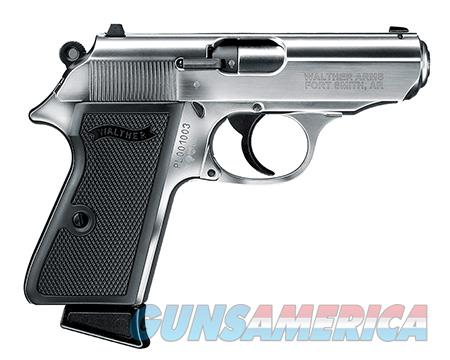 """Walther Arms 5030320 PPK/S  22 Long Rifle (LR) Single/Double 3.3"""" 10+1 Black Polymer Grip Nickel  Guns > Pistols > Walther Pistols > Pre-1945 > PPK"""