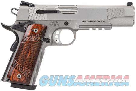 """Smith & Wesson 108411 1911 E Series 45 ACP Single 5"""" 8+1 Laminate Wood Grip Stainless Steel Slide  Guns > Pistols > Smith & Wesson Pistols - Autos > Steel Frame"""