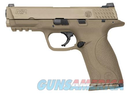 """Smith & Wesson LE 209921 M&P 9 VTAC Double 9mm Luger 4.3"""" 17+1 Flat Dark Earth Interchangeable  Guns > Pistols > Smith & Wesson Pistols - Autos > Polymer Frame"""