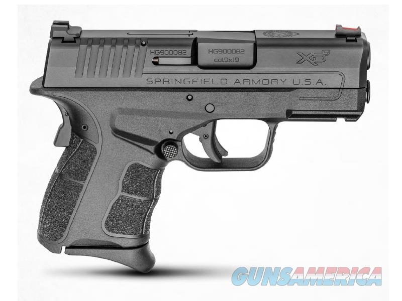 "Springfield Armory XDSG9339B XD-S Mod.2  9mm Luger Double 3.3"" 7+1/9+1 Black Polymer Grip/Frame  Guns > Pistols > S Misc Pistols"
