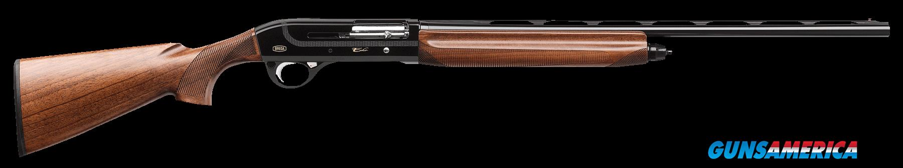 "Breda/Dickinson BRE04 Echo Semi-Automatic 20 Gauge 28"" 3"" Walnut Stk Black Aluminum Alloy Rcvr  Guns > Shotguns > B Misc Shotguns"