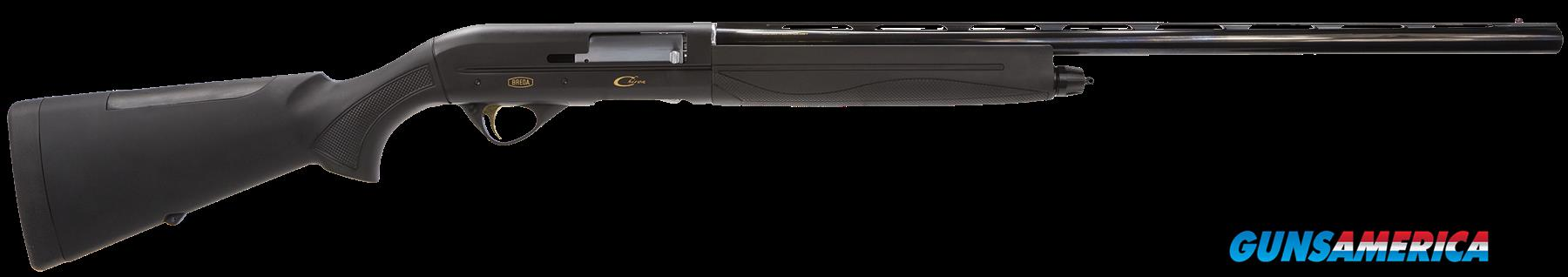 "Breda/Dickinson BRE17 Chiron Semi-Automatic 12 Gauge 26"" 3"" Synthetic Black Stk Blued  Guns > Shotguns > B Misc Shotguns"