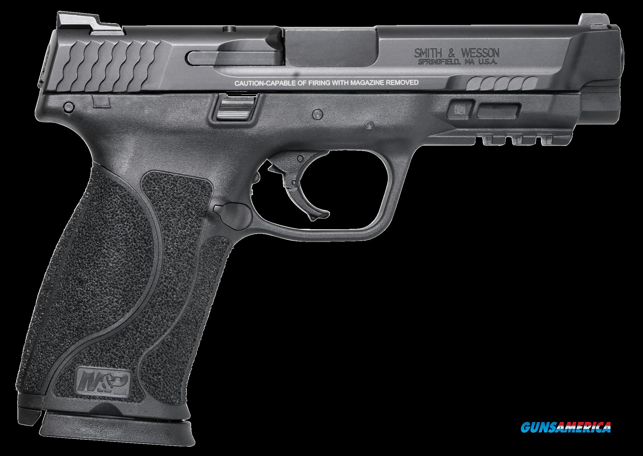 "Smith & Wesson 11523 M&P 45 M2.0 Double 45 Automatic Colt Pistol (ACP) 4.6"" 10+1 Black  Guns > Pistols > S Misc Pistols"