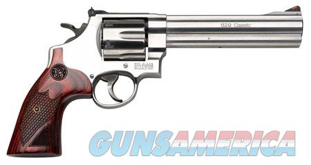 """Smith & Wesson 150714 629 Deluxe Single/Double 44 Remington Magnum 6.5"""" 6 rd Wood Grip Stainless  Guns > Pistols > Smith & Wesson Revolvers > Model 629"""