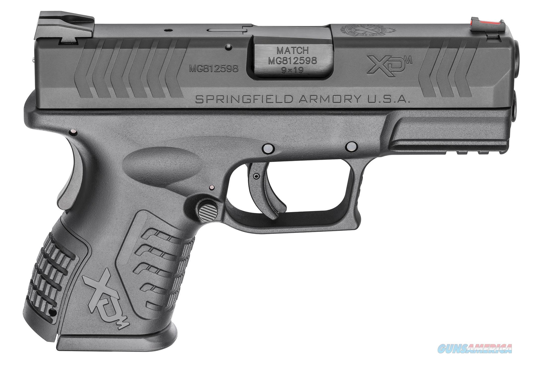 Springfield Armory XDM COMPACT 9MM BLK 3.8 19+1   Guns > Pistols > Springfield Armory Pistols > XD-M